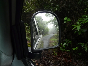 When leaving the misty winding road behind is as sad as leaving memories behind....