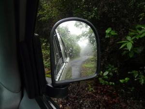 When leaving the misty winding road behind is as sad as leaving memories behind....